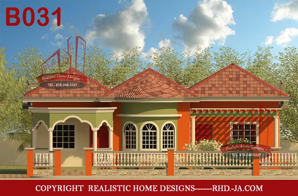 House plans and designs in jamaica for Jamaican house designs
