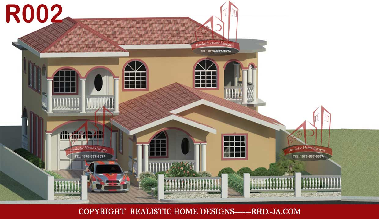 Home designs Building construction 3d rendering real estate